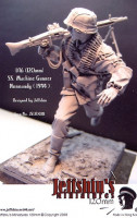 Jeffchiu's Miniatures JS120018 German SS. Machine Gunner Normandy 1944