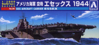 Aoshima 009376 US Navy aircraft carrier Essex 1944 1:2000