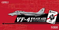 "Great Wall Hobby S7202 US Navy F-14A VF-41 ""Black Aces"" 1:72"