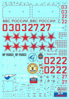 Authentic Decals DECAD4872 1/48 Su-34 Fullback 'Final Result'&stencils (TRUM)