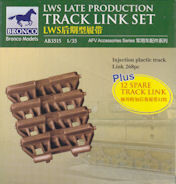 Bronco AB3515 LWS Late Production Track Link Set 1:35