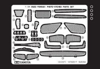 Tamiya 12652 Enzo Ferrari Etching Parts 1:24