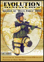 "Evolution Miniatures 35013 Soldier of ""Delta Force""1993"