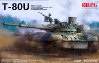 RPG Model 35001 T-80U Main Battle Tank 1:35