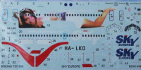 BOA decals 14443 for Boeing 737-500 Sky Europe 1/144