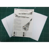 "Foxbot FM48-005 Sukhoi Su-24M ""White 20"", Ukranian Air Forces, цифровой камуфляж (Use & Foxbot Decal) 1/48"