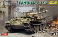 RFM Model RM-5018 Panther Ausf.G Early/Late 1:35