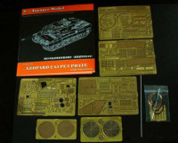 Voyager Model PE35011 Photo Etched set for Leopard 2A5 (For TAMIYA 35242)