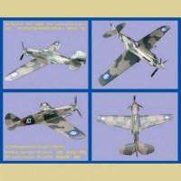 Bronco 48BK004 1/48 P-40C Tomahawk Flying Tiger (AVG) DIECAST