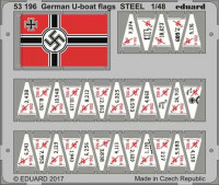 Eduard 53196 German U-boat flags 1/48