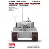 RFM Model RM-5017 Workable Track Links For Tiger I Late Production 1:35