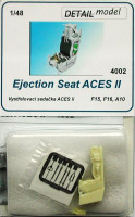 Detail Model DETMO4002 1/48 Ejection Seat ACES II (F15, F16, A10)