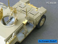 Voyager Model PE35038 Photo Etched set for Japan light armored vehicle (For TAMIYA 35275)