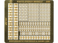 White Ensign Models PE 4012 KRIEGSMARINE PORTHOLES AND DOORS 1/400