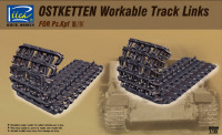 Riich Models RE30008 Ostketten Workable Track Links for Pz.Kpf III/IV
