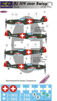 Lf Model C32104 1/32 Decals Bf 109 over Swiss (EDU/TRUMP) Part 2