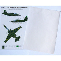 Foxbot FM48-012 Su-25UB Blue 60, Ukranian Air Forces, clover camouflage (Use & Foxbot Decal) 1/48