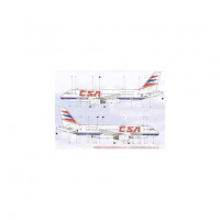 BOA Decals 14422 1/144 Decals Airbus A319 (??SA)