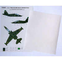 Foxbot FM48-013 Su-25UB Blue 65, Ukranian Air Forces, clover camouflage (Use & Foxbot Decal) 1/48
