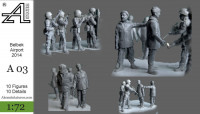 "Alex miniatures А003 Аэропорт ""Бельбек"" 2014, 1:72"