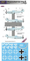 Lf Model C3280 1/32 Decals Messerschmitt Bf 109G-10 - Part 1