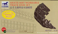Bronco AB3527 ARIETE mbt workable track link set 1:35