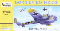 Mark 1 Model MKM-14463 1/144 Dornier Do 17Z-2/3 Eastern Front (4x camo)