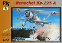 Fly Model FLY72008 1/72 Henschel Hs 123A (Special scheme)