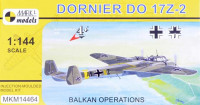 Mark 1 Model MKM-14464 1/144 Dornier Do 17Z-2 Balkan Operations (4x camo)