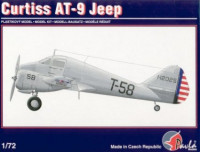 Pavla Models 72013 Curtiss AT-9 Jeep 1:72