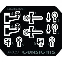 EXTRATECH EXTE48020 German Gunsight WWII 1:48