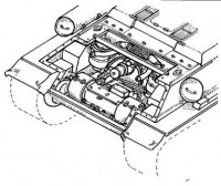 CMK 3006 T-34 - transmission set for TAM 1:35
