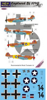 Lf Model C3283 1/32 Decals Captured Bf 109G - Part 1