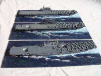 Tom's Modelworks 700-05 Hornet hull (hull only) 1:700
