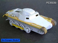 Voyager Model PE35039 Photo Etched set for Panzer I Ausf B (For DRAGON 6186)