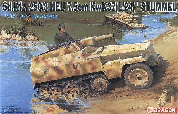 "Dragon 6102 SdKfz 250/8 ""Stummel"" (w/7.5 cm Kwk 51) 1:35"