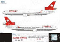 Ascensio 011-004 MD-11 Swiss 1/144