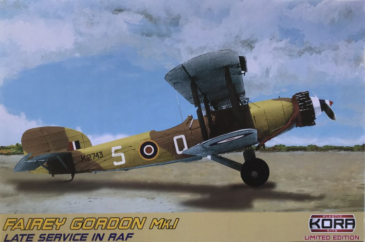 Kora Model KORPK72129 Fairey Gordon Mk.I Late Service in RAF 1:72