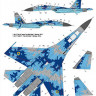 Foxbot 32-006 Sukhoi Su-27 with Name 1/32