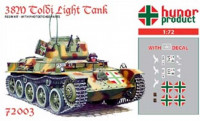 Hunor Product 72003 38M Toldi I. Light Tank 1/72