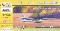 Mark 1 Model MKM-14496 1/144 LET L-13/L-13A Blan?k AEROCLUBS (2-in-1)