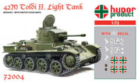 Hunor Product 72004 42M Toldi II. Light Tank 1/72