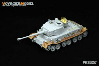 Voyager Model PE35057 Photo Etched set for 1/35 Tiger(P) (For DRAGON 6210/6353)