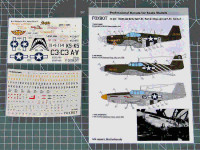 Foxbot 72-052 North American P-51 Mustang Nose art, Part 2 1/72
