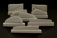 Brengun BRL48027 MiG 3 control surfaces (ICM and ALANGER kit) 1/48